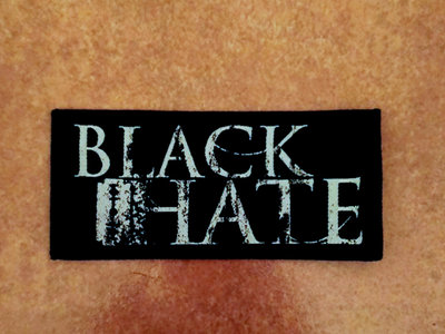 BLACK HATE - LOGO PATCH main photo