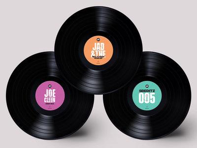 3 x vinyl bundle of your choice! main photo