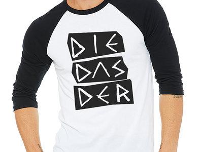 DIE DAS DER Baseball Shirt (3/4 Sleeve) main photo