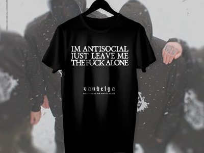 TSHIRT 'Antisocial' [limited] main photo