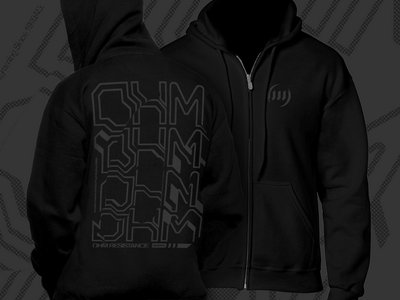 OHM RESISTANCE Hoodie by Machine™ main photo