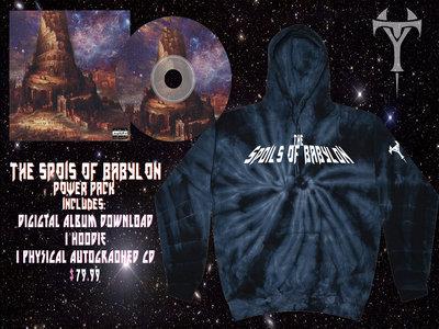 The Spoils Of Babylon Power Pack! Glow in The Dark Hoody & Album Set main photo