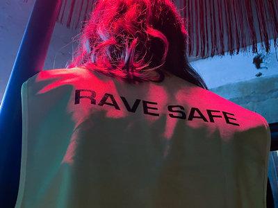 "Savour The Moment ""RAVE SAFE"" - High Visibility Vest main photo"