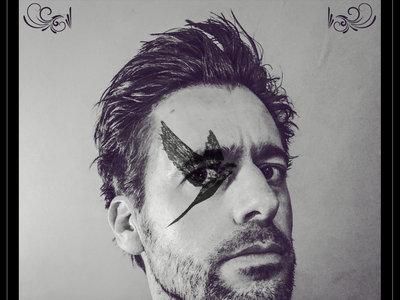 LUCID Album Release Poster of Richard Jones. 30x40cm. main photo