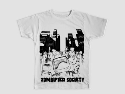 Zombified Society - White main photo