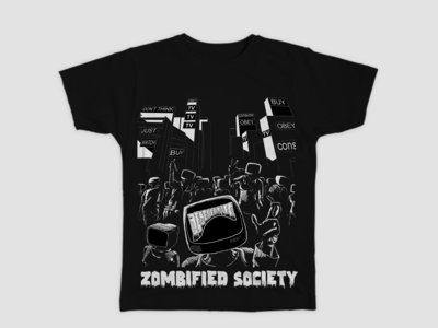 Zombified Society - Black main photo
