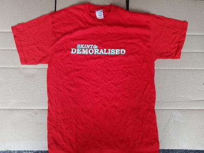 Skint & Demoralised red t-shirt main photo