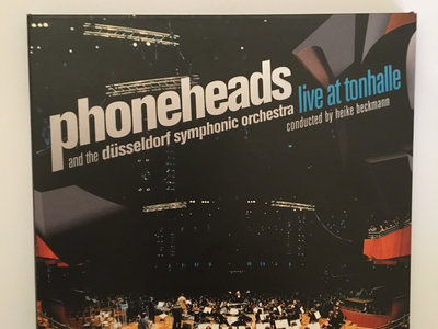 Phoneheads And The Düsseldorf Symphonic Orchestra – Live At Tonhalle CD and DVD main photo