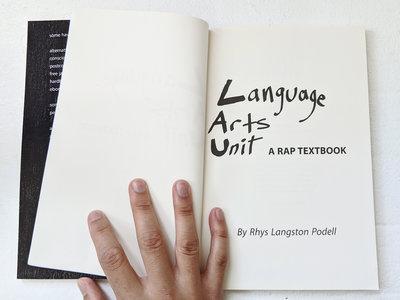 Language Arts Unit: a Rap Textbook main photo