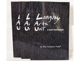 Language Arts Unit: a Rap Textbook photo