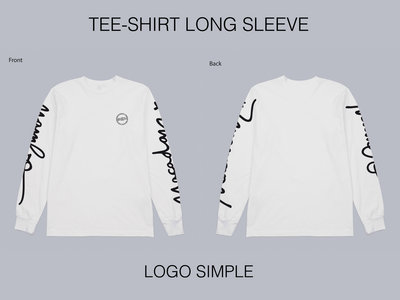 T-Shirt LONG SLEEVE LOGO simple (sold out) main photo