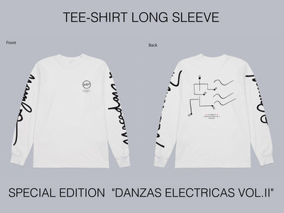 "T-Shirt LONG SLEEVE ""DANZAS ELECTRICAS VOL.2"" Special Edition (last pieces 3x L and 1x XL) main photo"