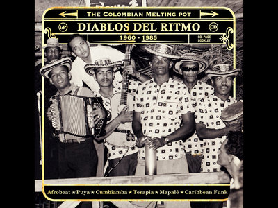 Gatefold Cover Diablos Del Ritmo Part 2 main photo