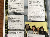 """""""The Canary Collective"""" Limited Edition Collaged Lyric Booklet + Digital Album photo"""