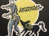 (5 pack) Mummy and Anubis At the Pool Sticker photo
