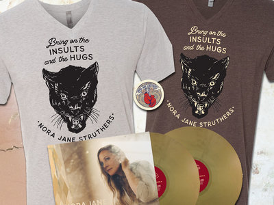 "Cougar Shirt + ""Bright Lights"" Vinyl (choose espresso or white) main photo"