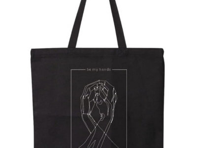 be my hands black tote bag main photo