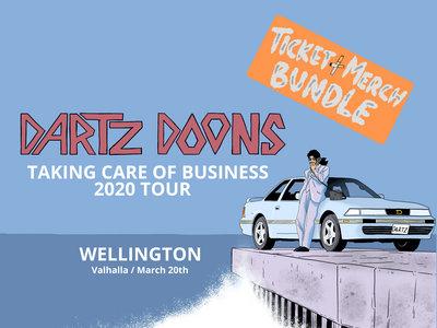 Wellington Ticket + Merch Bundle main photo