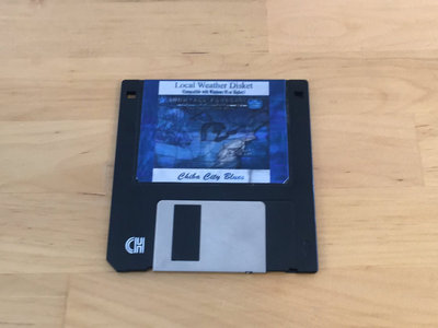 """Chiba City Blues - Local Weather Disket 3.5"""" FLOPPY DISK main photo"""