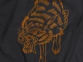 """Wolf T-shirt """"Of Lost Things"""" by Victor B. Pastier photo"""