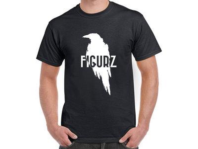 Crow T-shirt Black main photo