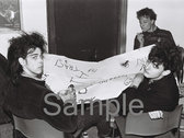 """""""Sometimes Pleasureheads Must Burn"""": The Birthday Party and beyond 1982-89"""". Photographs by Innes Reekie photo"""