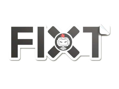 "FiXT Logo 2x5"" Sticker main photo"