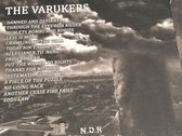 The Varukers - Damned and Defiant LP photo