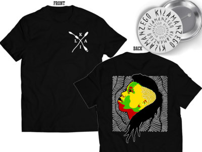 """These Roots Are On Fire"" Bundle (Limited T-Shirt, 2"" Button, EP Download + Personalized Card) main photo"