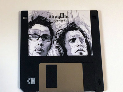 """StrayOtic - Too Much 3.5"""" FLOPPY DISK main photo"""