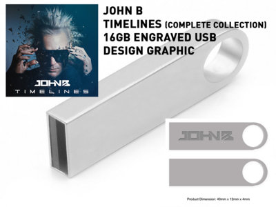 LIMITED EDITION 16GB ENGRAVED METAL USB STICK - TIMELINES (1995-2020): THE COMPLETE COLLECTION [WITH MP3 DOWNLOAD] (PREORDER) main photo