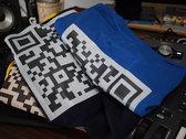 """""""QR Logo"""" T-shirt & Sticker photo"""