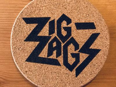 """Zig Zags """"Logo Beer Coasters"""" main photo"""
