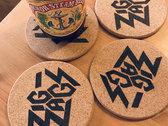 "Zig Zags ""Logo Beer Coasters"" photo"