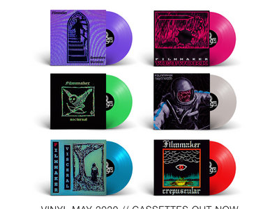 Filmmaker Vinyl Bundle main photo