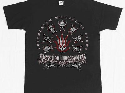 'Postmortem Whispering Crows' T-shirt main photo