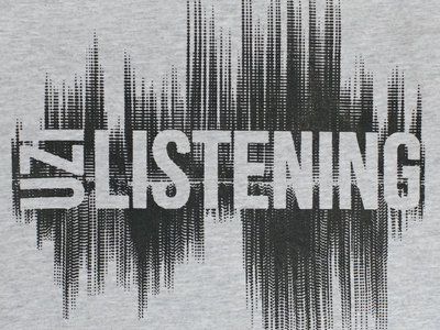 "Uzi Listening ""Wave"" T-Shirt main photo"
