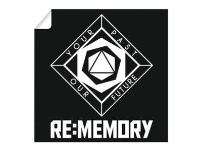 "Blackstar - Re:memory Logo 4"" Vinyl Sticker main photo"