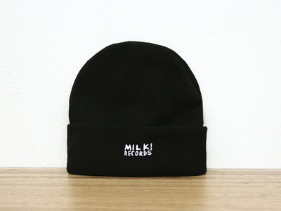 MILK! RECORDS Beanie [BLACK] main photo