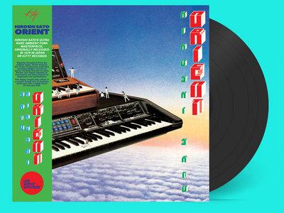 Hiroshi Sato - Orient - Black LP edition with OBI main photo