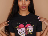 Pansy Broken Heart T-shirt photo