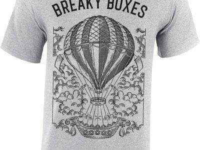 "T-Shirt Breaky Boxes | ""Balloon"" - Gris (Unisex) main photo"