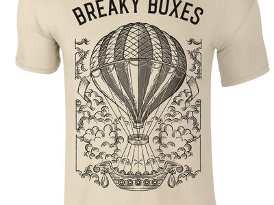 "T-Shirt Breaky Boxes | ""Balloon"" - Sand (Unisex) main photo"
