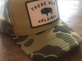 Retro Camo Trucker Hat photo