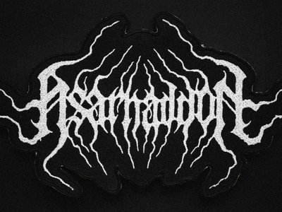 Asarhaddon Embroidered Shaped Backpatch (last copy) main photo