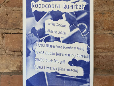 Cancelled Irish Tour March 2020 Riso Print main photo