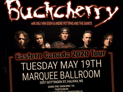 Buckcherry Support @ The Marquee, May 19th main photo