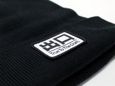 EXITBEANIE001 - Exit Records 'True To The Craft' beanie main photo