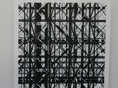 """The Binary Collective 12"""" Screen Print by Graphic Surgery - Limited of 30 main photo"""