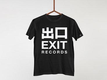 LOGOTEE001BLK - Classic Exit Records Logo Tee main photo